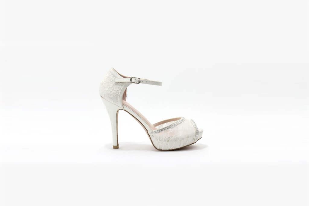 Como Escoger Zapatos Novia De Encaje